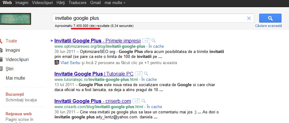 Invitatii Google Plus si un decalog