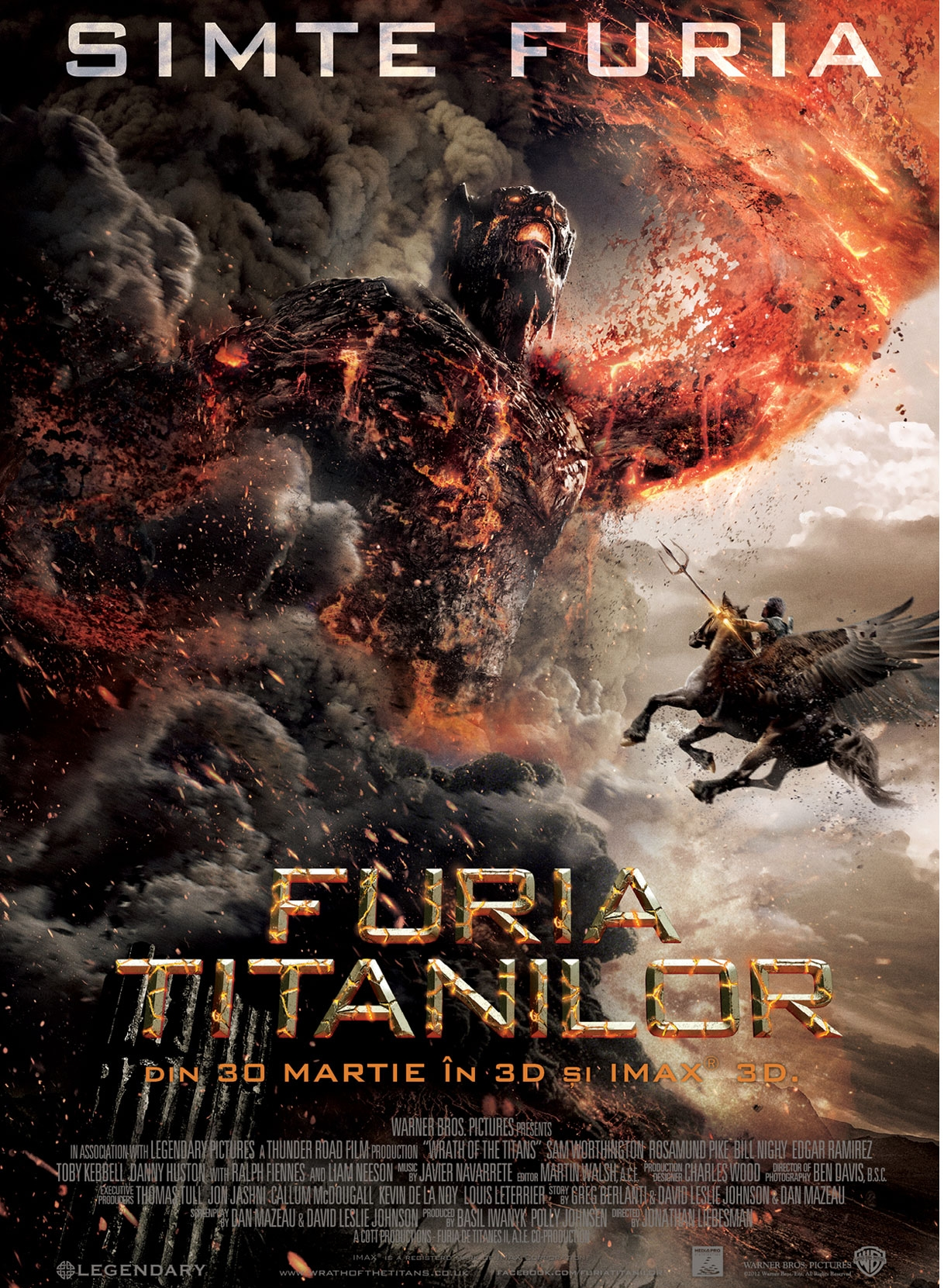 Furia Titanilor (Wrath of the Titans) la IMAX 3D
