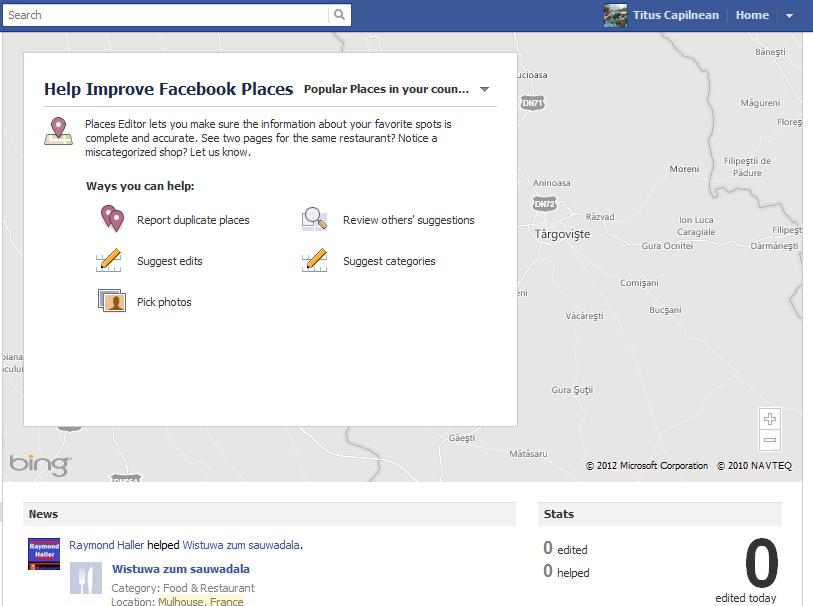 Cum sa gasesti locuri de iesit pe Facebook?