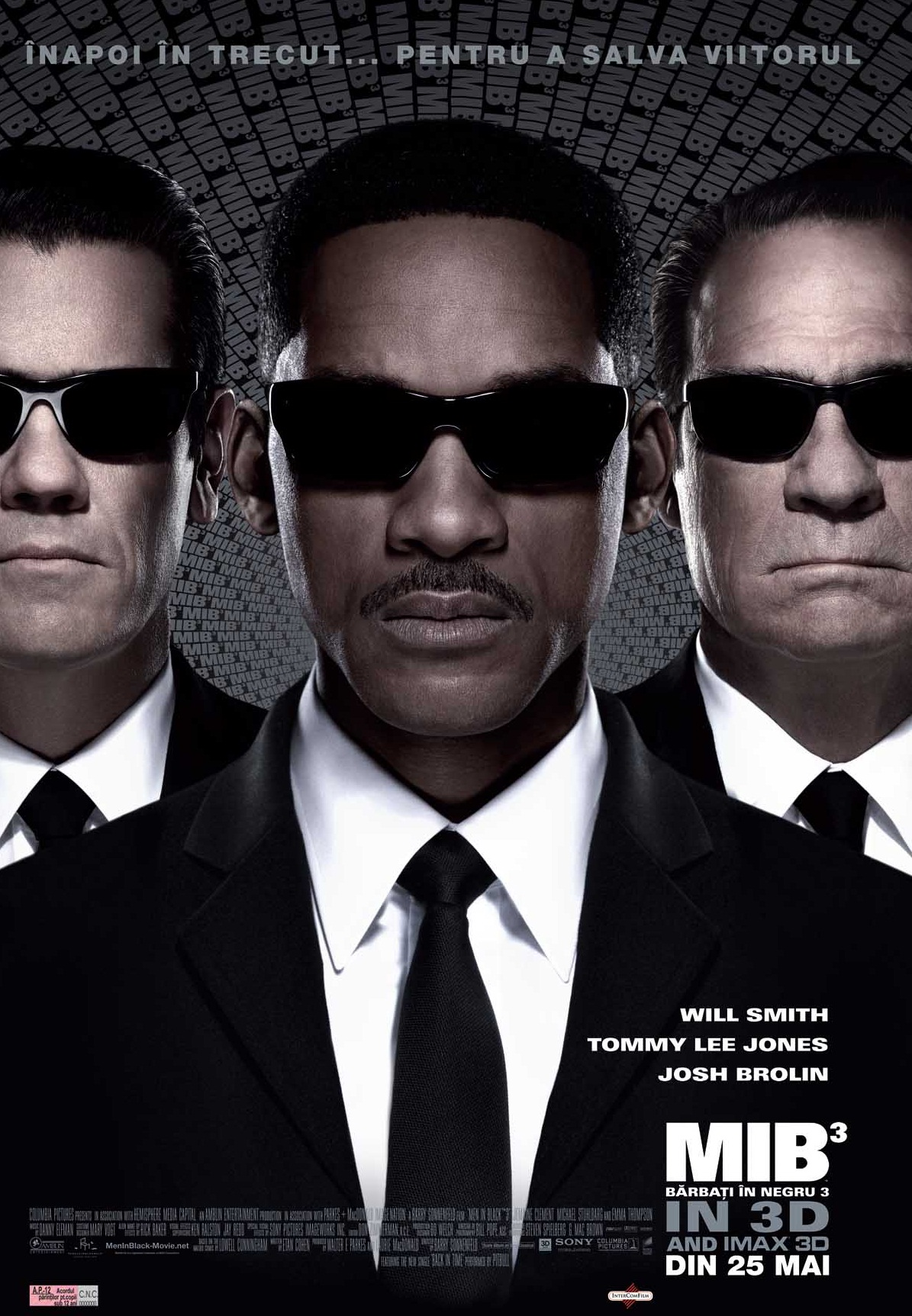 Men In Black 3 (2012) – un film fain, fără percheziții