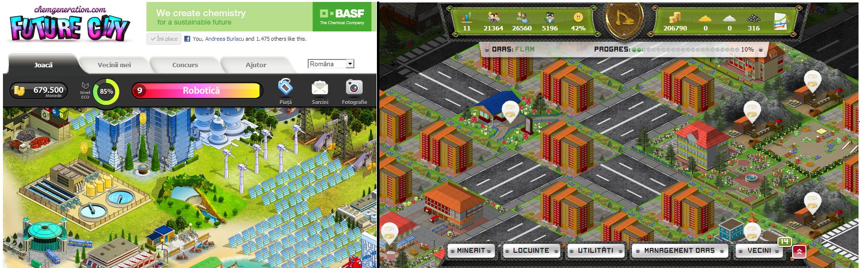 future city vs orasul minier